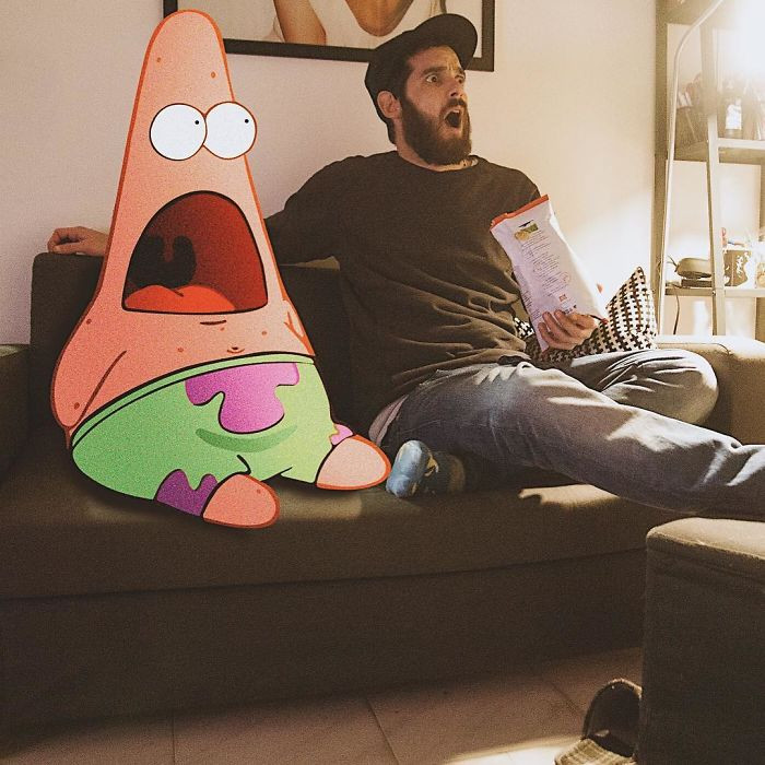 7. Patrick and I say whaaaaaat!