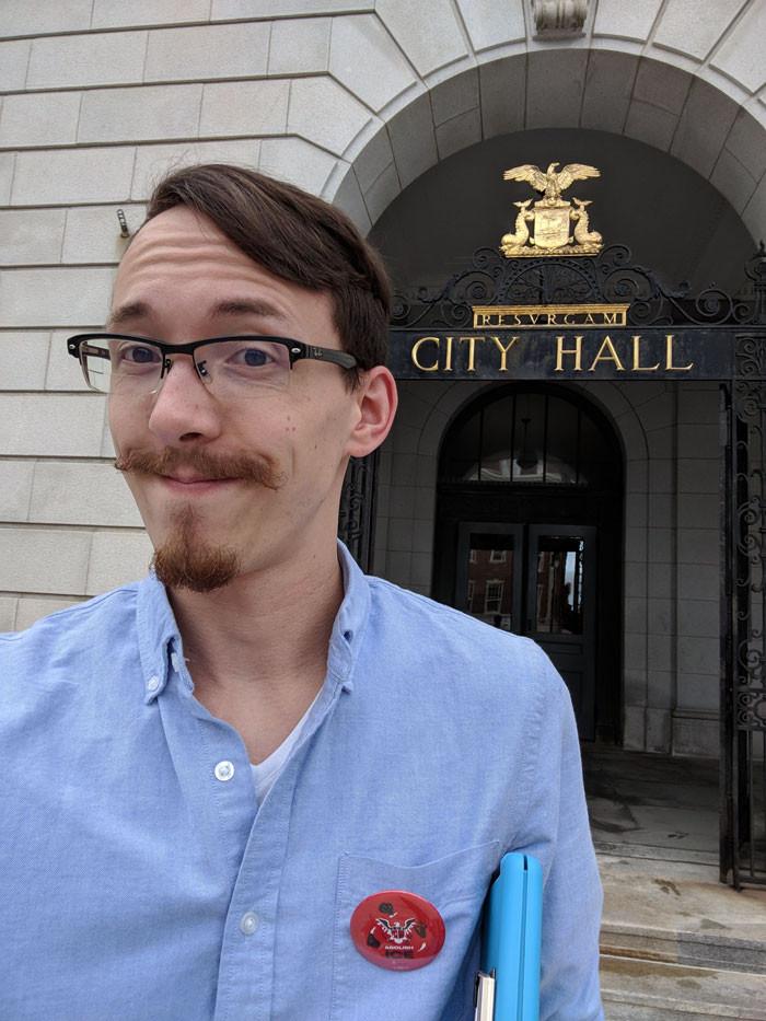 When Jon ran for city council