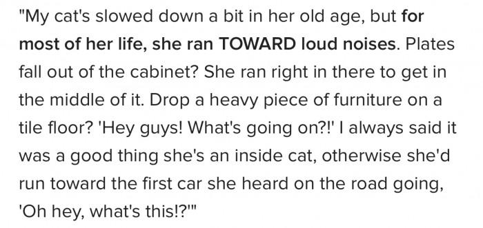 10. She's a runner!