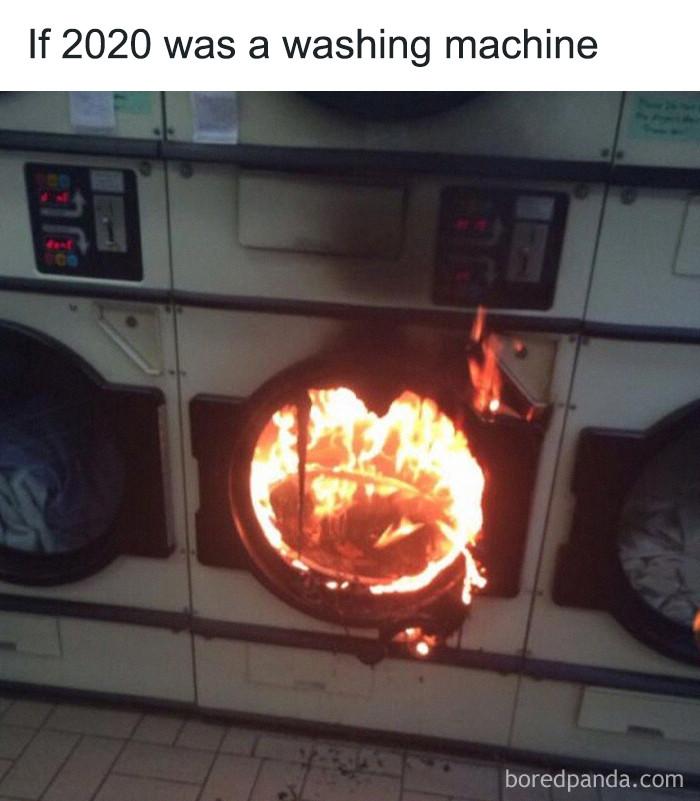 ... a washing machine