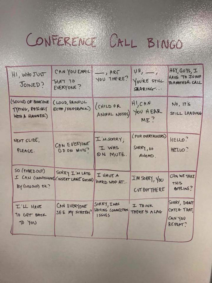 Conference calls are the worst