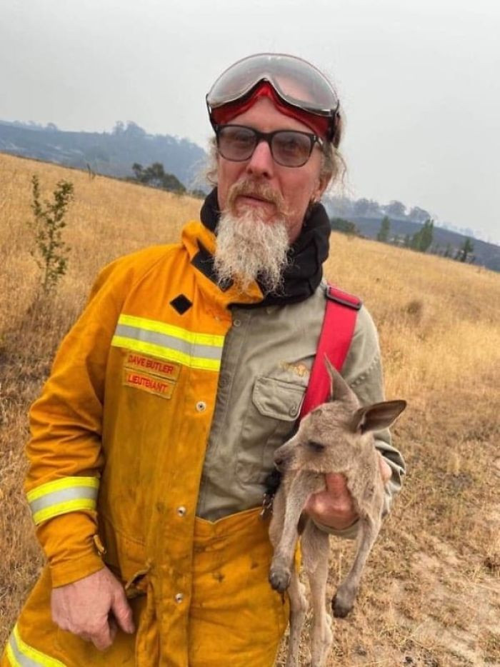 #11 Firefighter saved this joey in Victoria