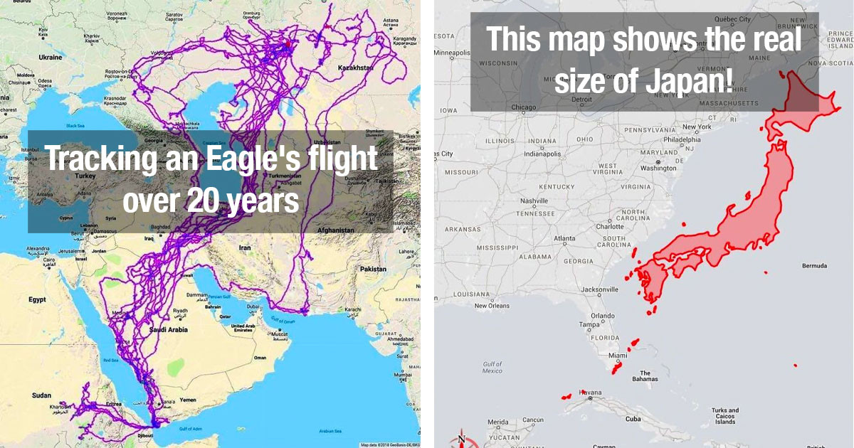 30 Cool And Unusual Maps That Will Change Your Perspective On The World