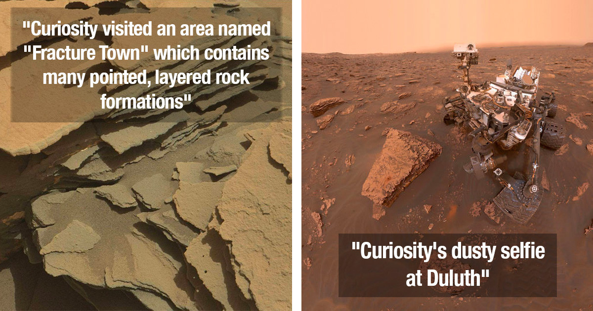 30 Best Photos That NASA's 'Curiosity Rover' Has Been Taking Over The Past 7 Years