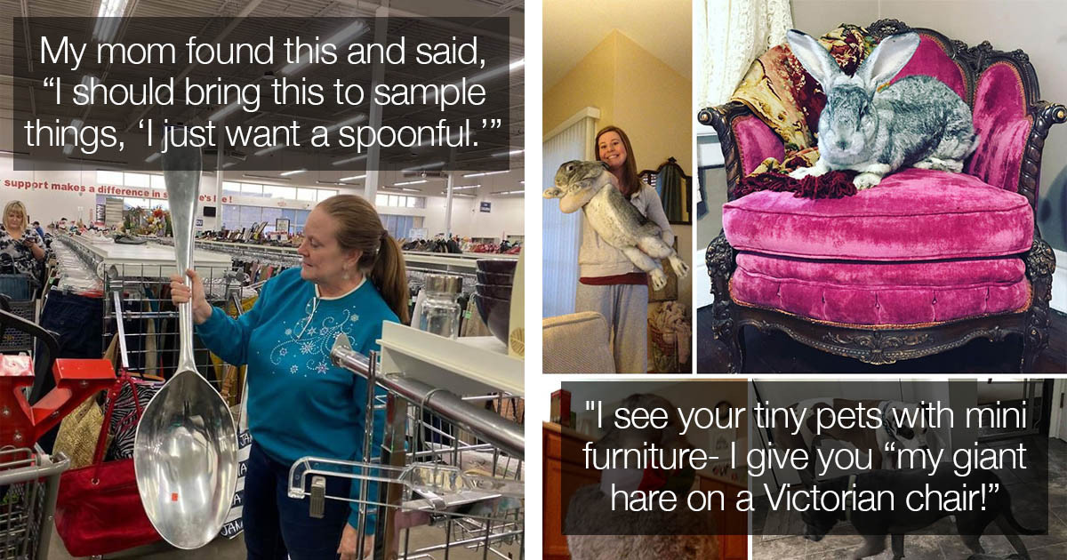 People Share Their Crazy and Weird Thrift Store Finds That You Couldn't Get Anywhere Else