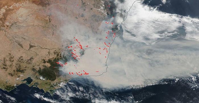 Australia has experienced such a monstrous drought, the fires have rapidly spread.