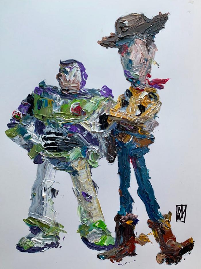 24. Buzz Lightyear and Sheriff Woody