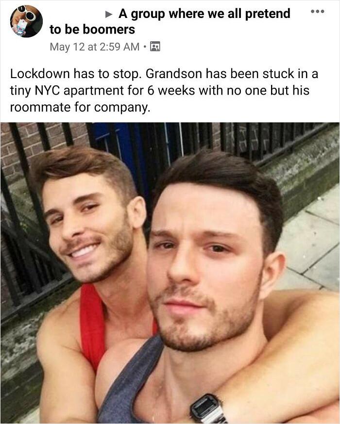11. Poor grandson...