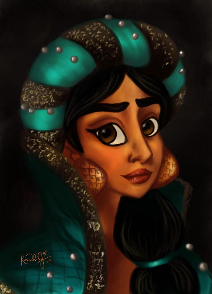 16. Princess of Agrabah