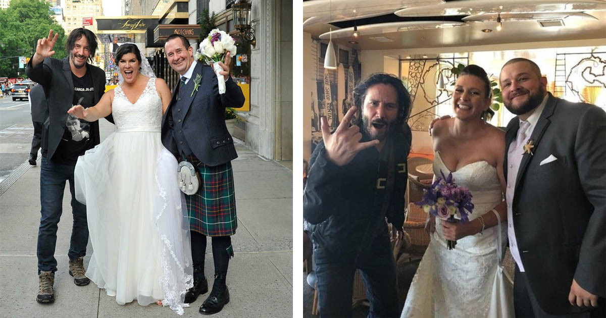Keanu Reeves Is The Coolest Wedding Crasher Ever And We Kinda Wish He Would Do This To Us