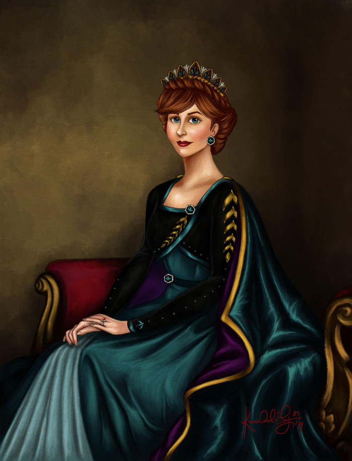 23. Queen Anna of Arendelle