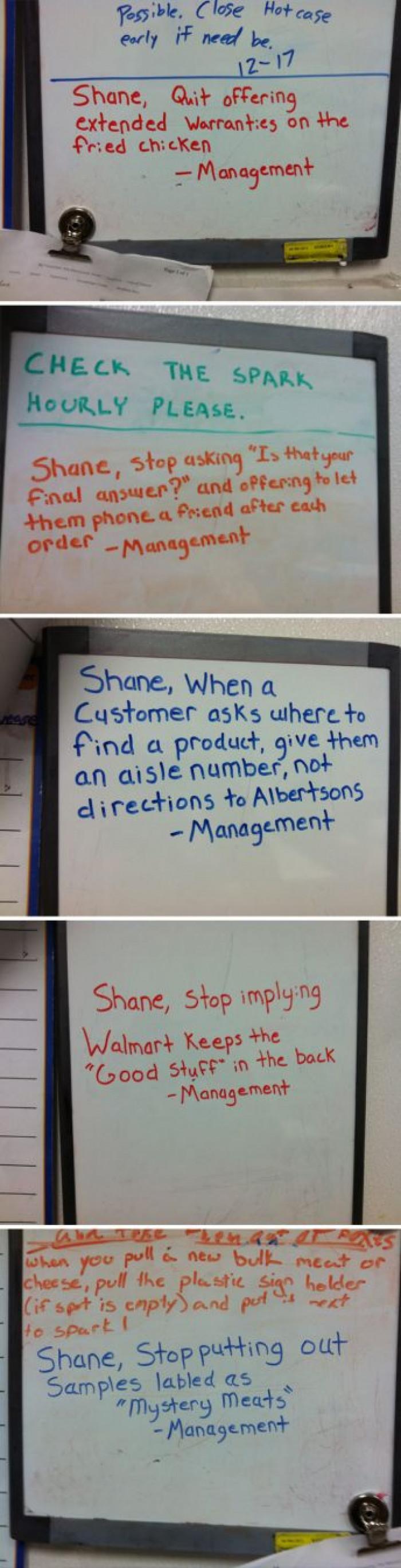 Goddamit Shane