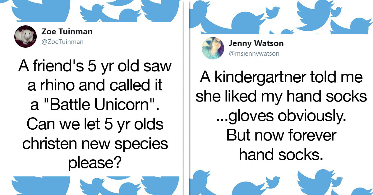 Parents Share The Hilarious Ways Their Kids Rename Common Things