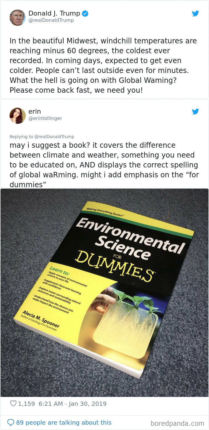The 'for dummies' books are the gift that keeps giving.
