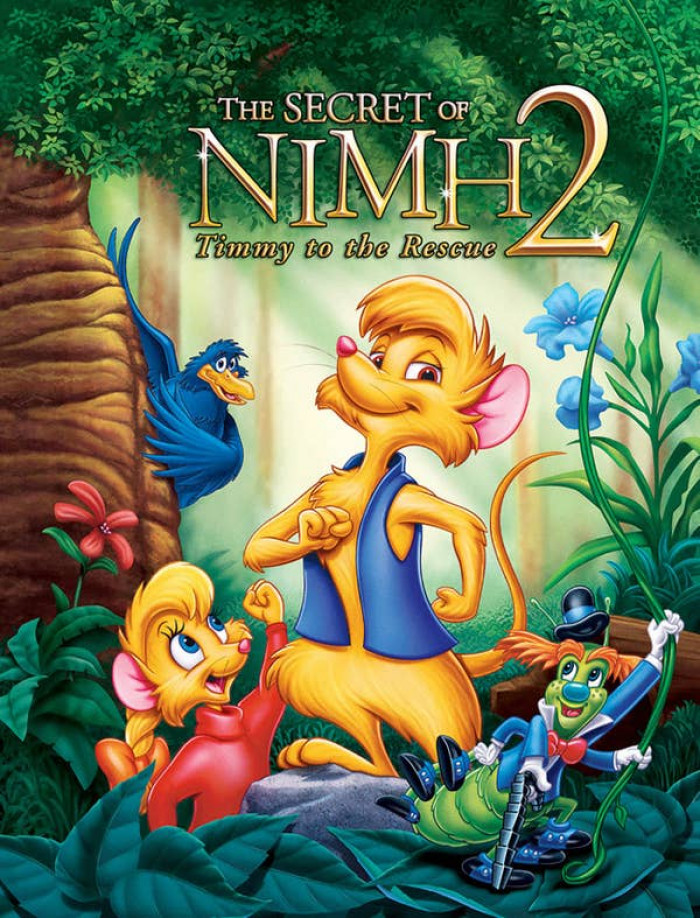 20. Secret of Nimh 2: Timmy to the Rescue