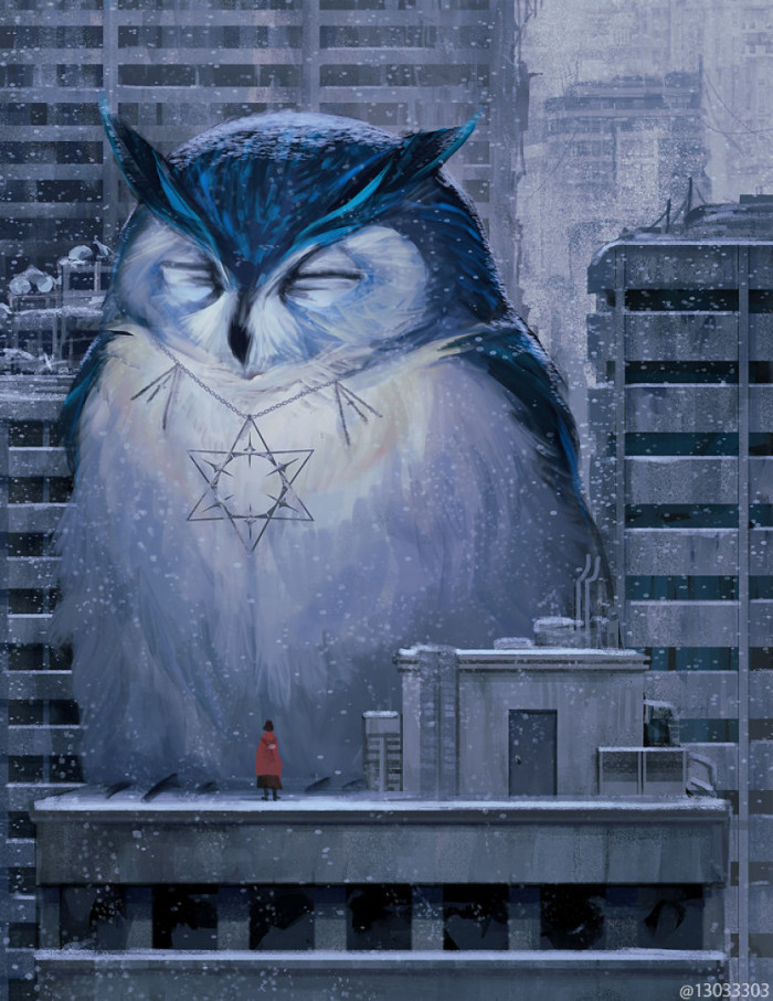 21. Owl in the city