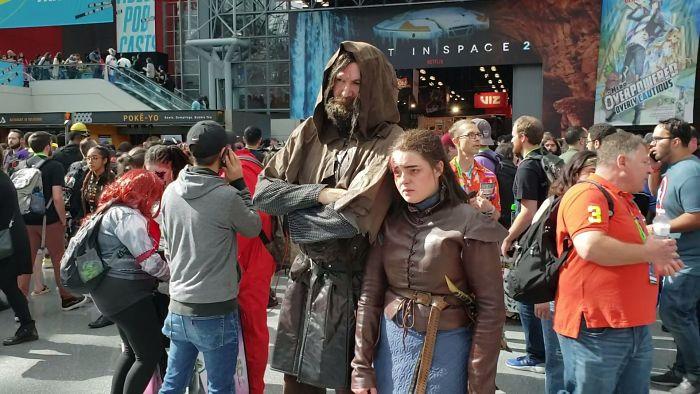 16. Arya Stark and The Hound