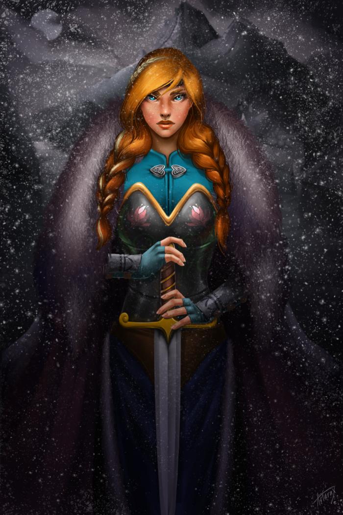 8. Anna, Frozen