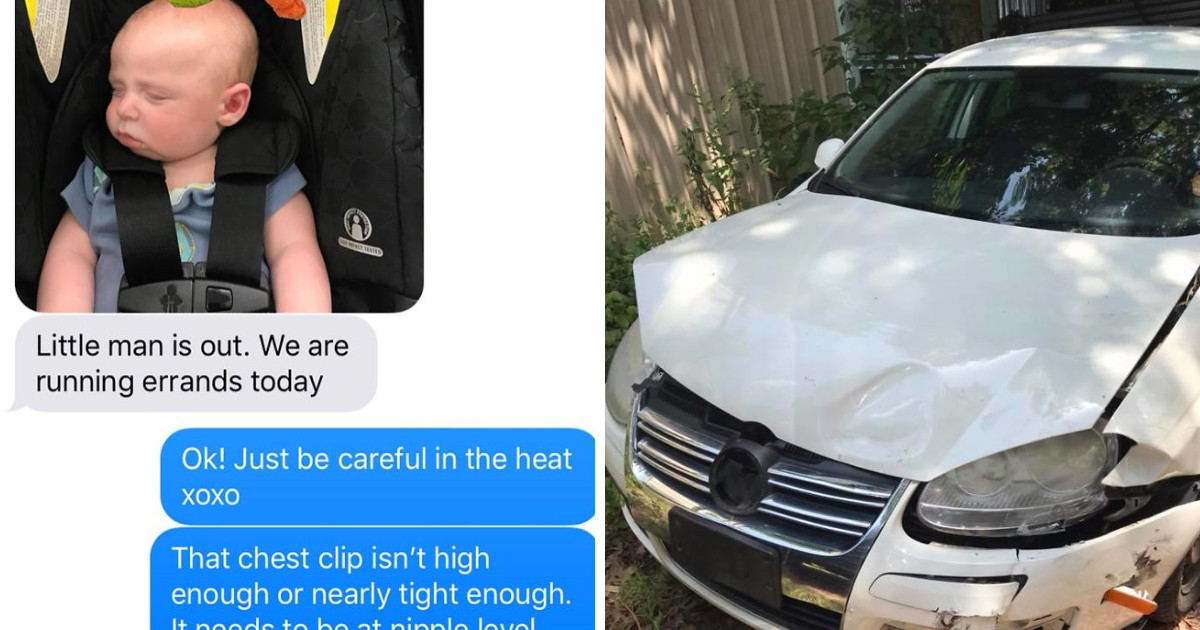 """This Mom Explained To The World How Her """"Nagging"""" and """"Annoying"""" Text To Her Husband Saved Their Baby's Life"""