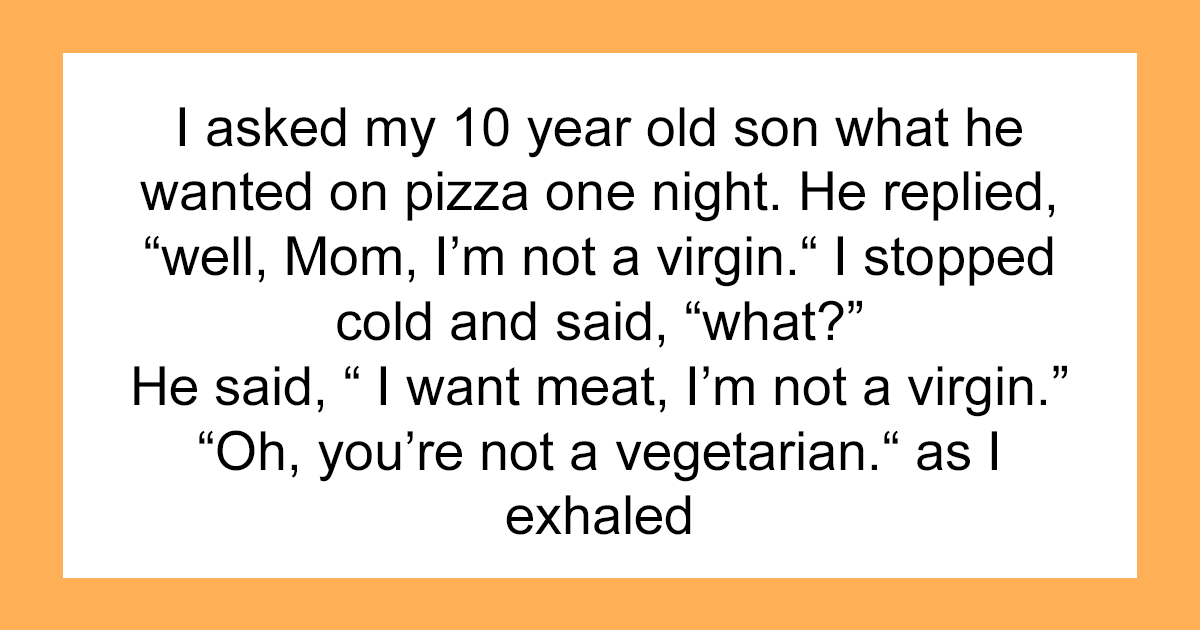 30 Of The Weirdest Things Parents Have Found Themselves Telling Their Kids