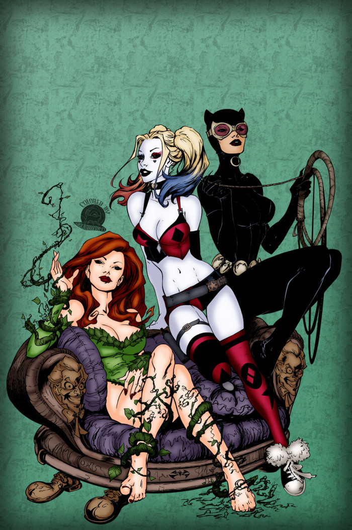 3. Gotham City Sirens