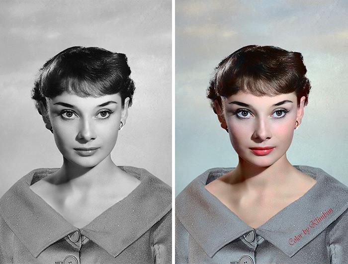 #12 Audrey Hepburn