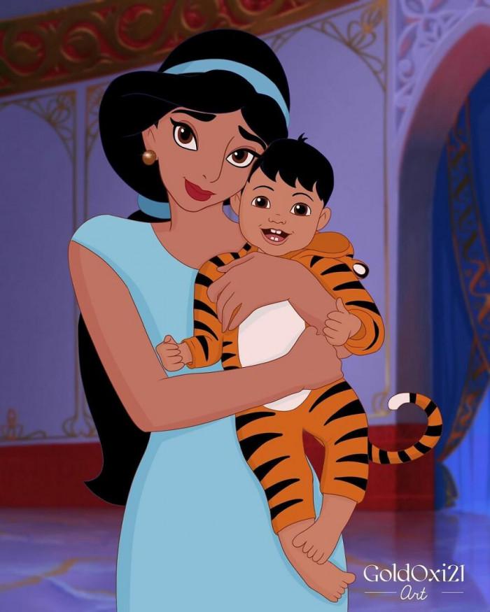 8. Princess Jasmine / Aladdin