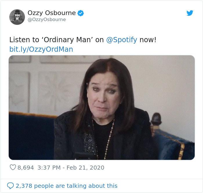 Ozzy Osbourne released a new album