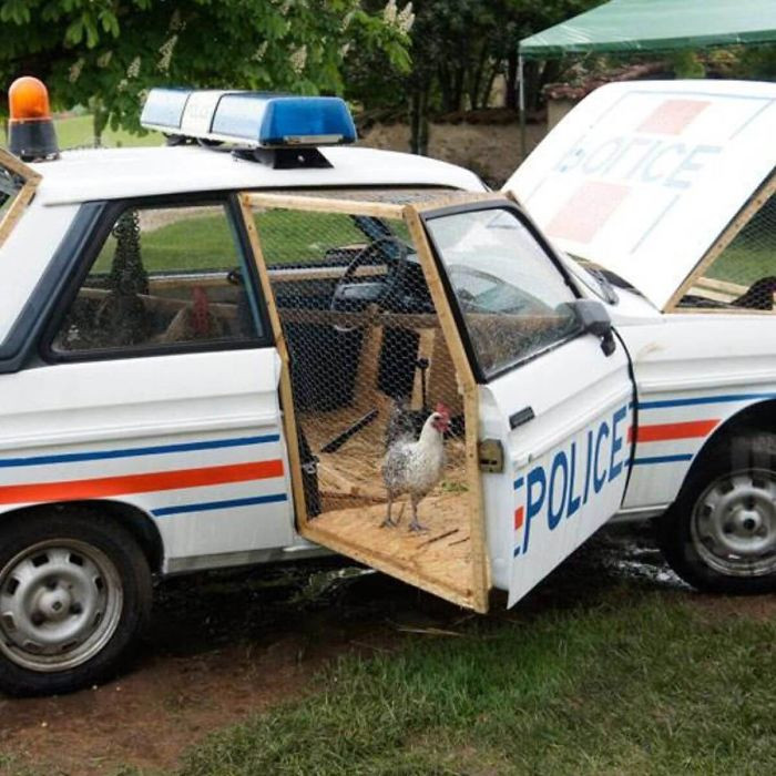 22. Police car