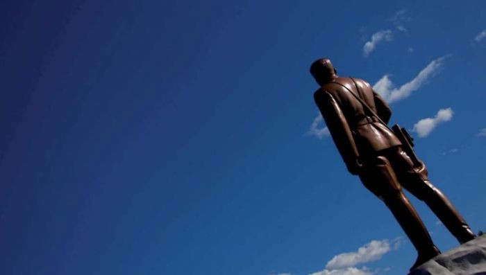 It is illegal to take pictures of the backs of statues of Kim Jong-Un, because it's considered disrespectful.