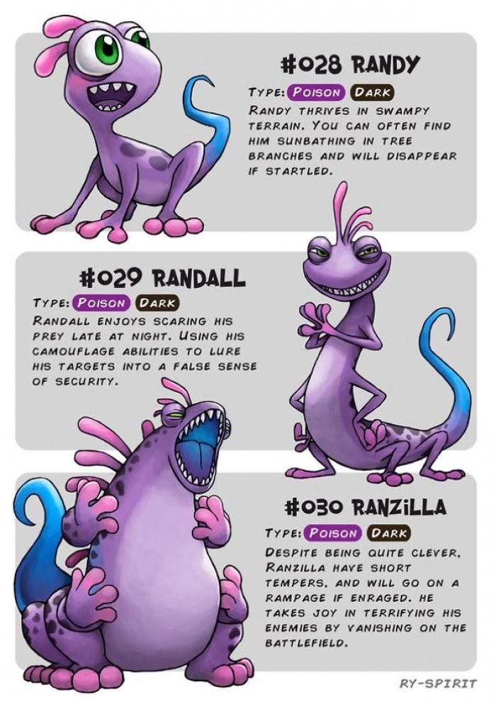13. Randy, Randall and Ranzilla