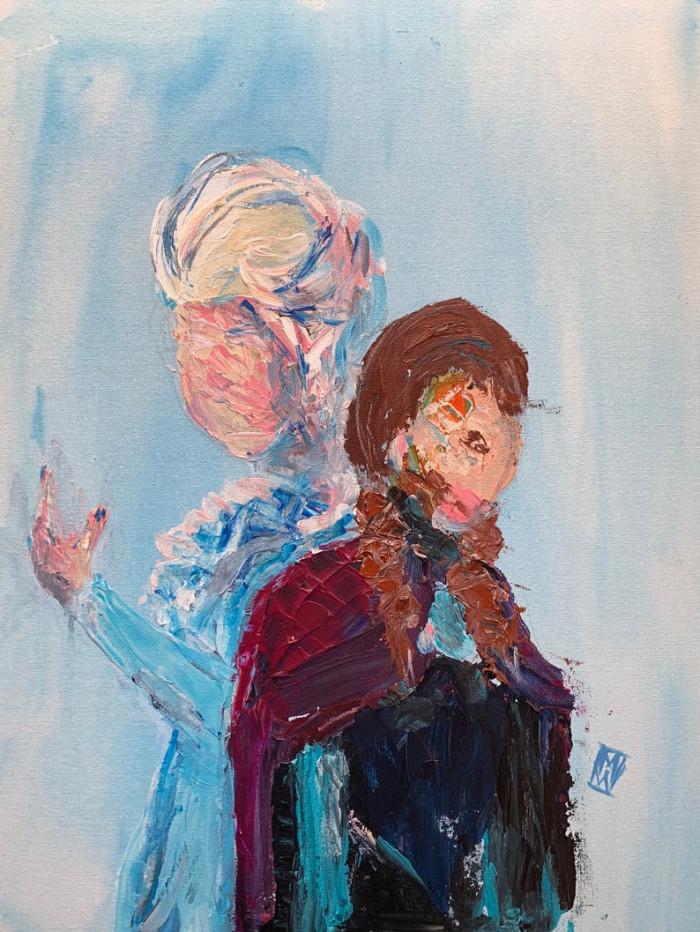 12. Elsa & Anna
