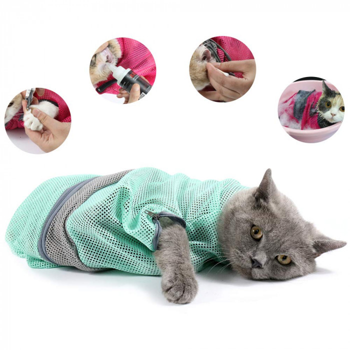 12. Adjustable Pet Restraining Bag - $12.68 USD