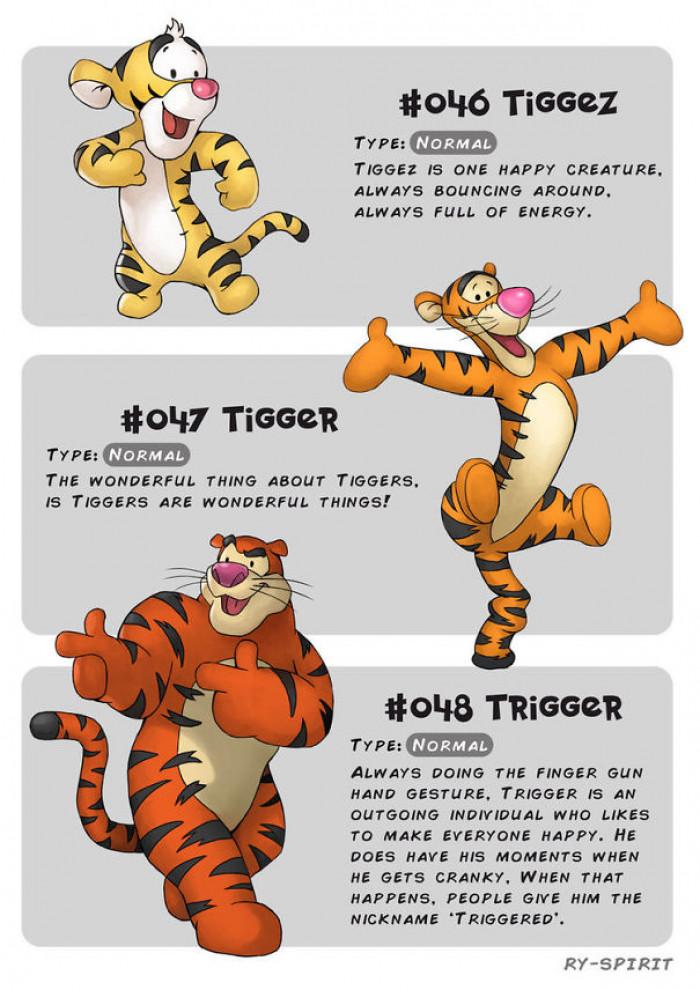 11. Tiggez, Tigger and Trigger