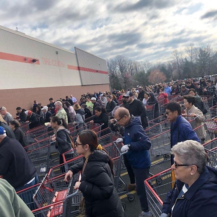 19. Costco... After school was officially closed. Holy WOAH.