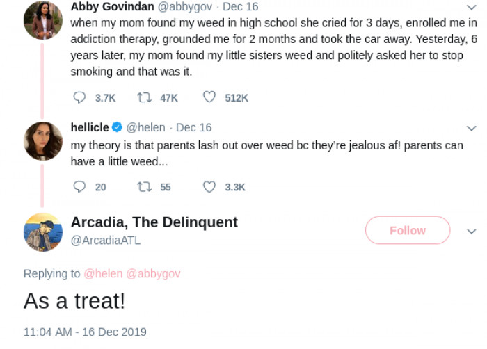 Honestly, there's a lot of discussions about weed on this thread.
