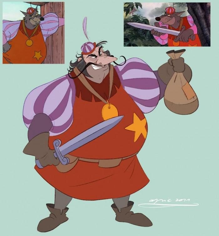 5. The Sheriff Of Nottingham, From Robin Hood