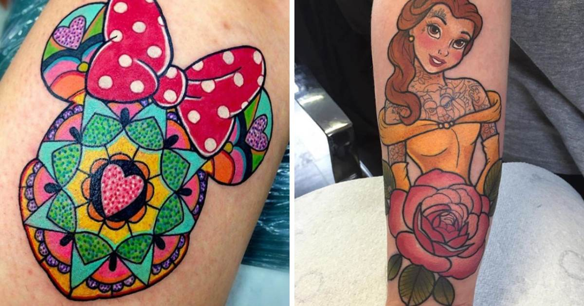 Disney Tattoos So Amazing You Are Going To Want 10 Of Them