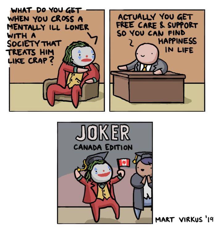 1. Joker – Canada Edition