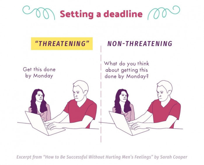 ...on 'Setting A Deadline' in corporate America