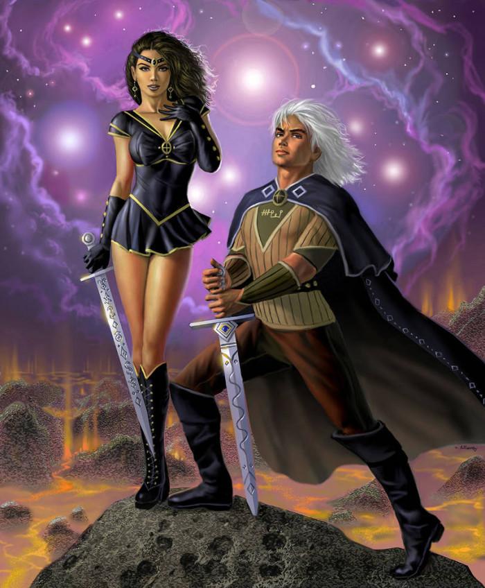 3. Sailor Orion and Bellatrix
