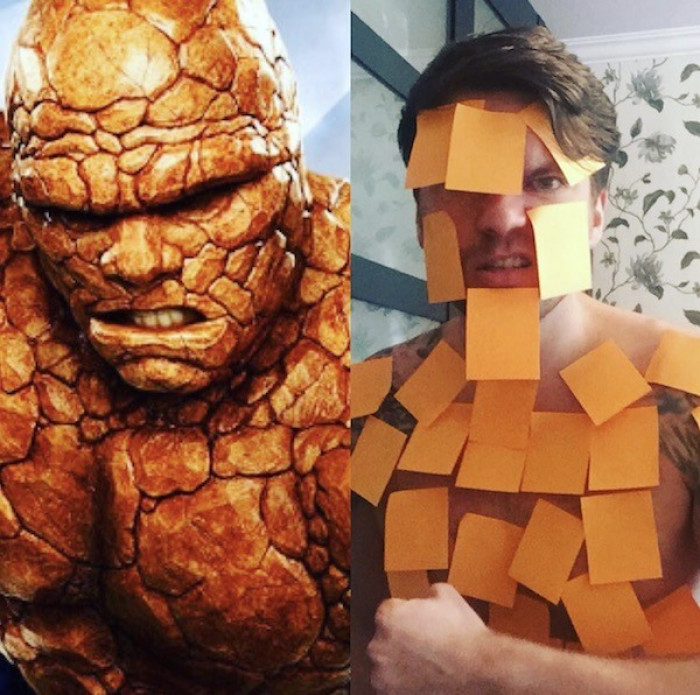 2. Benjamin Grimm aka the Thing from The Fantastic Four