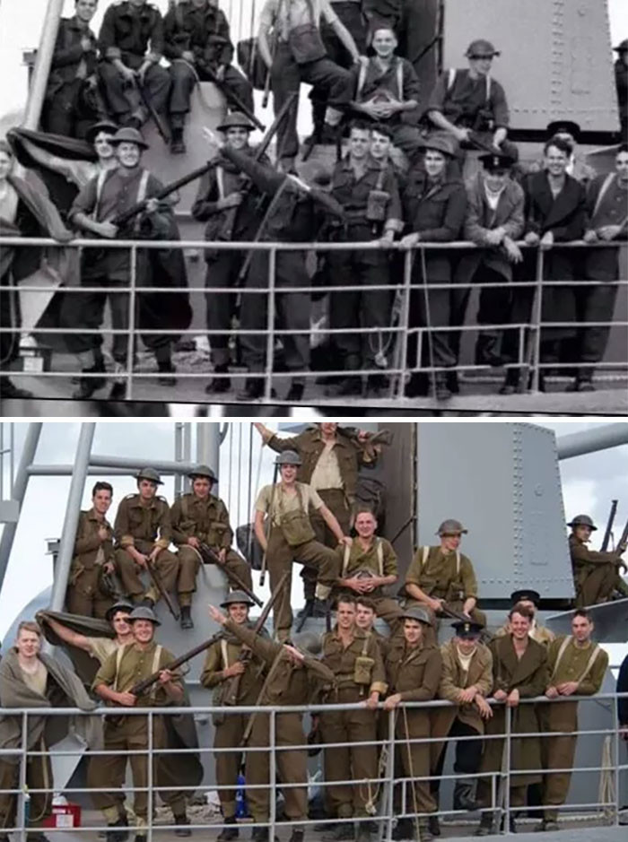 First dab? Nope, just shooting of Dunkirk.