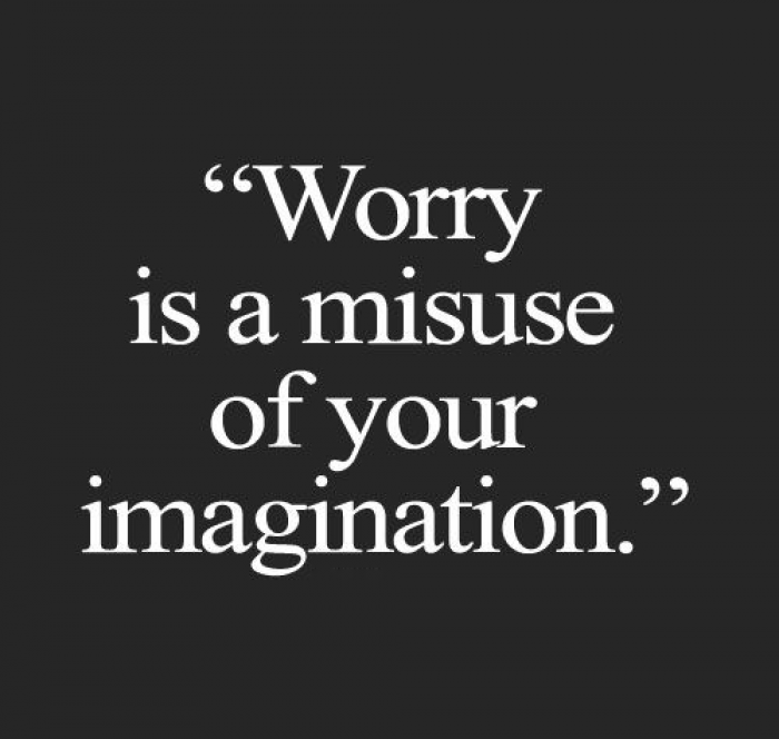 16. Who said I'm worrying? Are you worrying?
