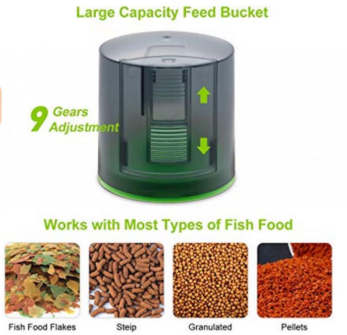 29. Automatic Fish Food Dispenser