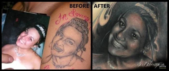 4. People can't understand that tattooing faces is a very bad idea