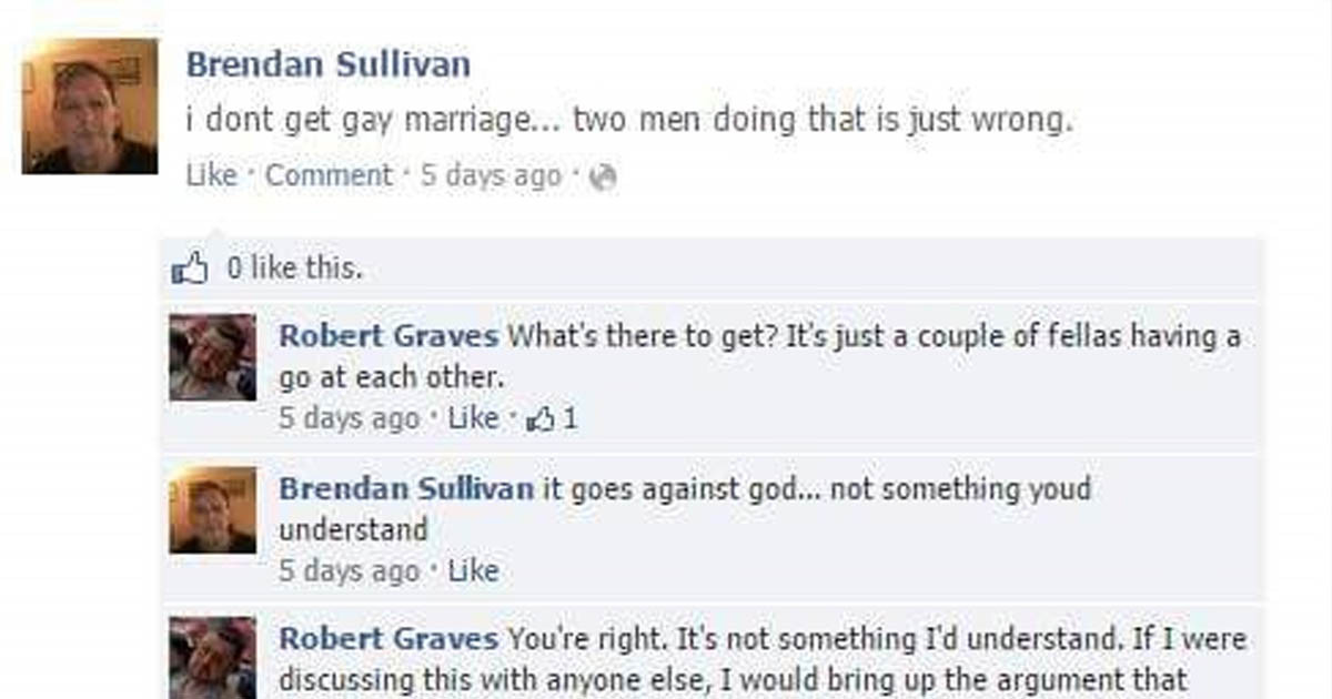 Internet Troll Helps This Racist Homophobe Regret Everything He's Just Said