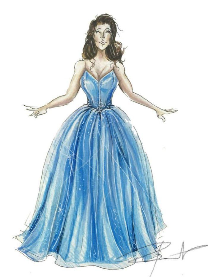 Addi's perfect gown