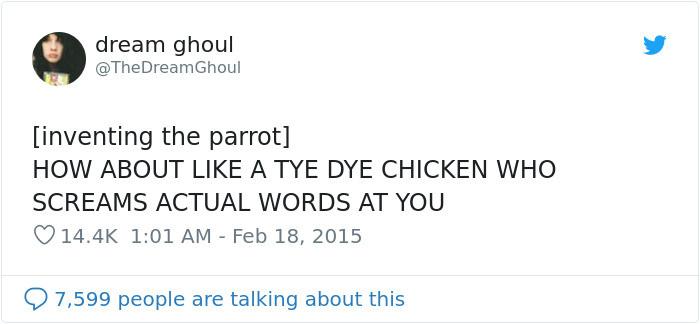 #16 More Parrots