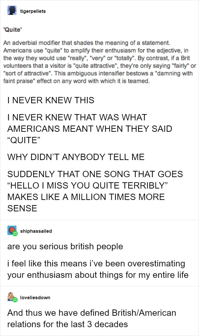 #14 Brits vs Americans